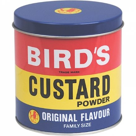 Bird's Custard Storage Tin